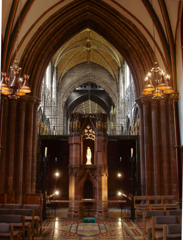 St Werburgh's Shrine, Chester Cathedral